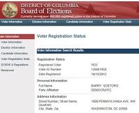 PJ Media: Obama Alias Barry Soetoro Registered To Vote At White House Address