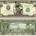 1 million dollar banknote