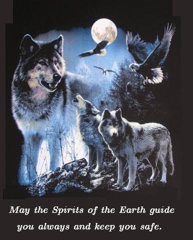 May the spirit guide you