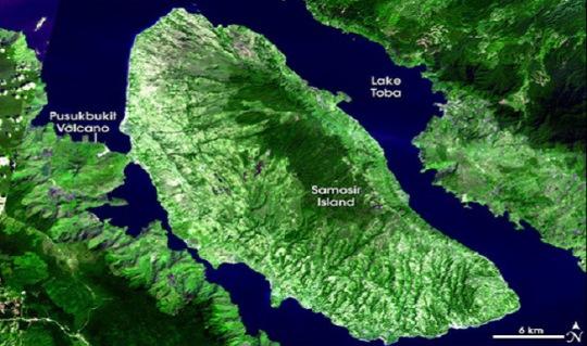 island of Sumatra