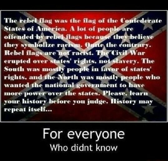 Confederate Flag States Rights